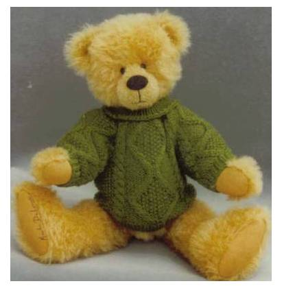 Teddy bear pattern-Toby